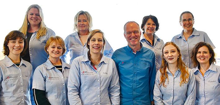 Dierenkliniek Kwint team